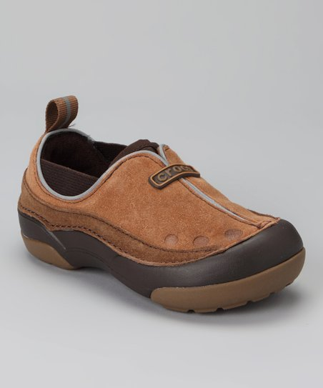Hazelnut & Russet Dawson Slip-On Shoe - Kids