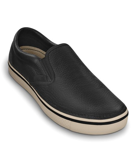 Black & Stucco Hover Slip-On Sneaker - Men