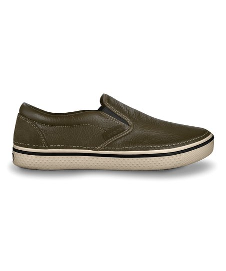 Espresso & Stucco Hover Slip-On Sneaker - Men & Women