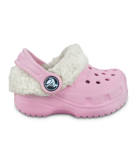 Bubble Gum Crocs Littles™ Mammoth Clog