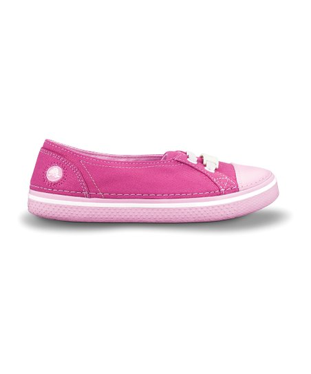 Fuchsia &amp; Bubble Gum Hover Skimmer Slip-On Sneaker - Kids
