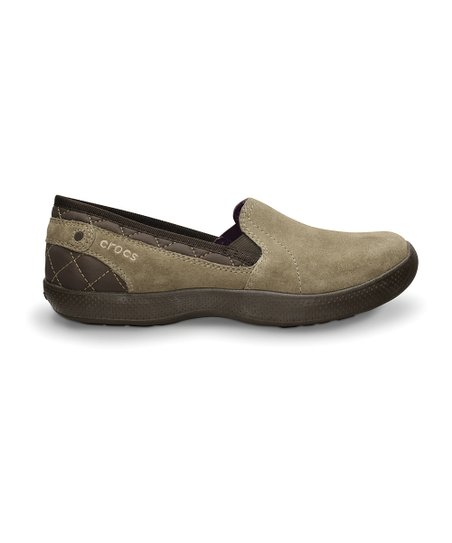 Khaki & Mulberry AnyWeather Suede Loafer - Women