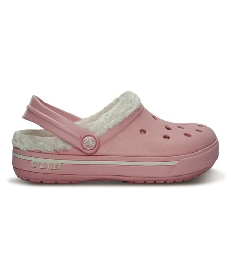 Petal Pink & Pink Lemonade Crocband 11.5 Winter Clog - Kids