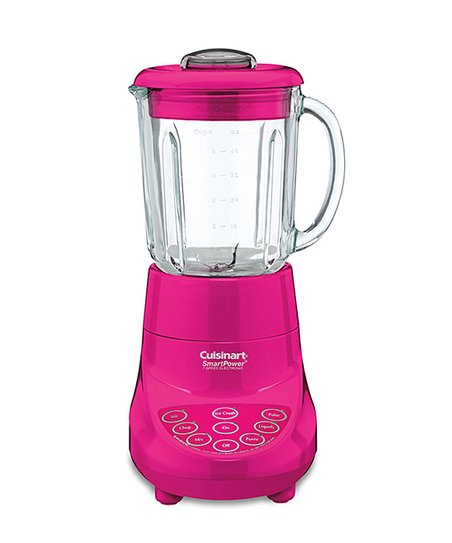 Hot 40-Oz. Pink SmartPower Deluxe Blender