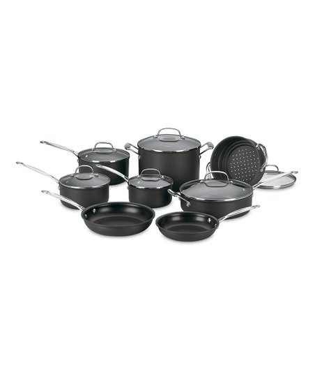 Chef&#039;s Classic Nonstick 14-Piece Cookware Set