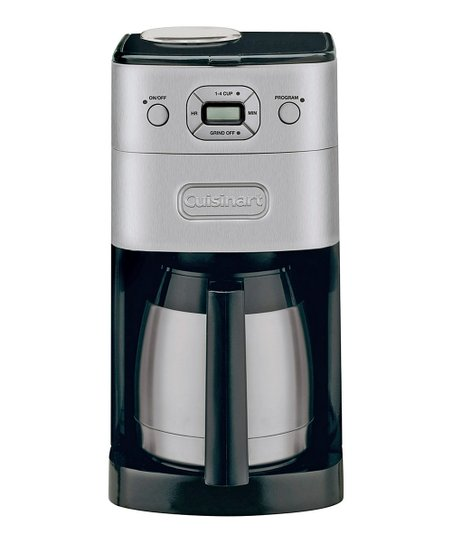 Grind & Brew Thermal 10-Cup Programmable Coffeemaker