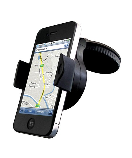 Black Car Mount for Smartphone