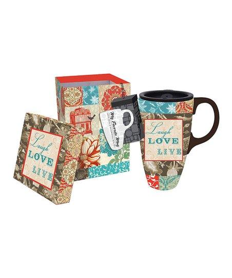 Faith Hope Joy 17-Oz. Latte Travel Mug