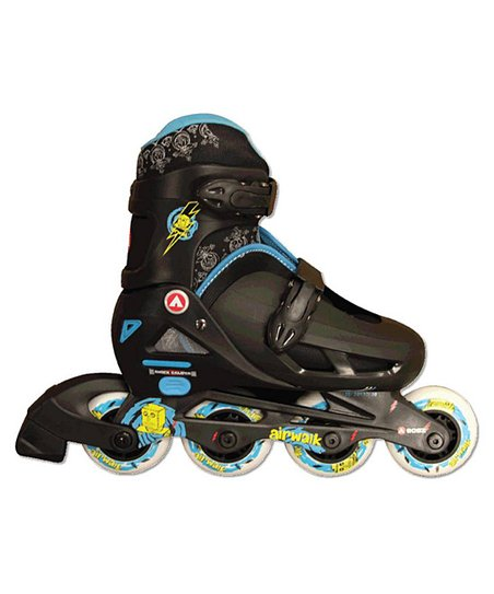 Airwalk Black In-Line Youth Skates