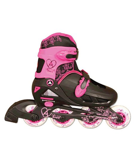 Airwalk Pink & Black In-Line Kids Skates