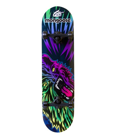 Mongoose Wolfman Skateboard Set