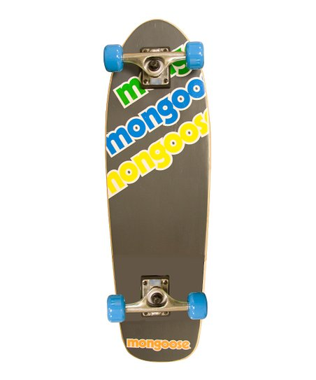 Mongoose Blue & Yellow Cruiser Skateboard