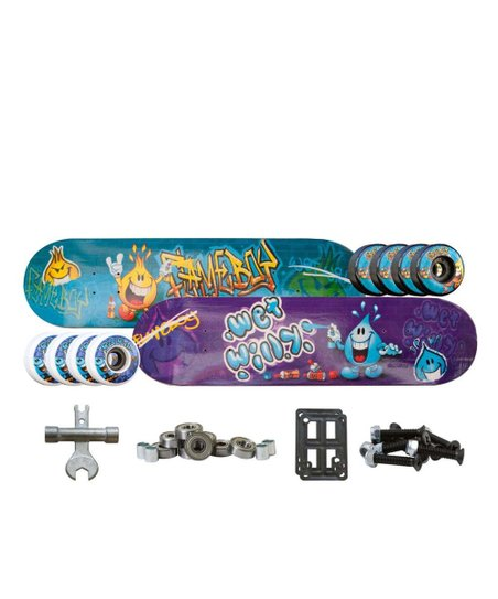 Flameboy &amp; Wet Willy Pro Level Skateboard Set