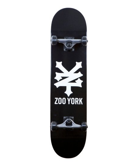 Black Zoo York Heritage Cracker Skateboard