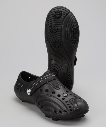 Black Spirit Golf Shoe - Kids