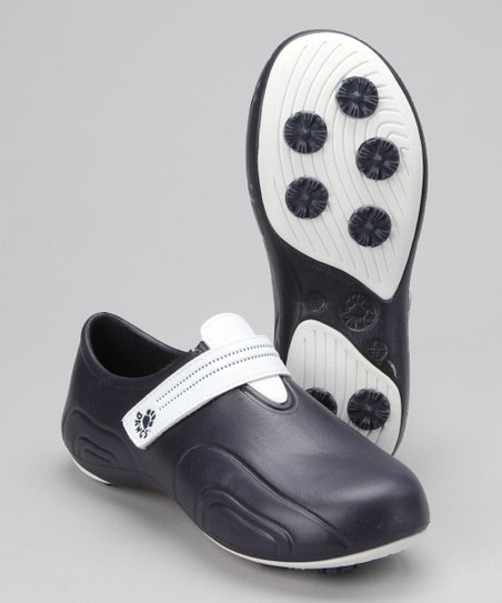 Navy & White Ultralite Golf Shoe - Women