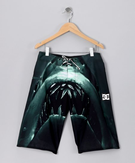 Black Lunch Meat Boardshorts - Boys