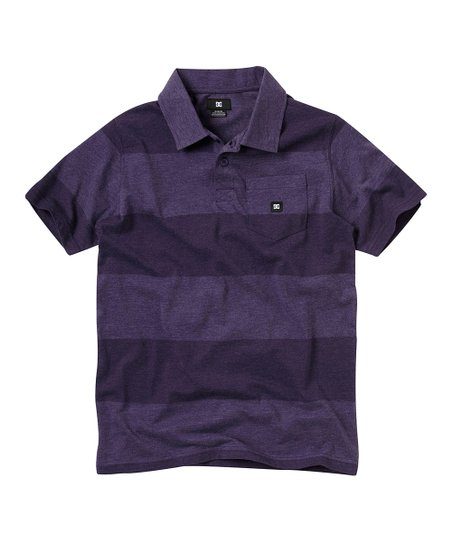 Purple Rain Chomper Polo - Boys