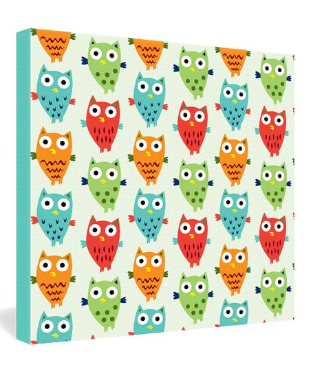 Owl Fun Wrapped Canvas