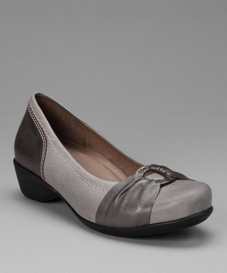 Gray Tana Pump