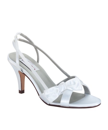 DYEABLES White Uptown Sandal