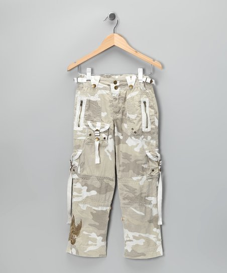 Cloca Straight-Leg Cargo Pants