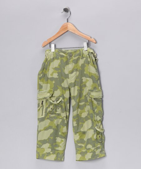 Parib Silk-Blend Cargo Pants