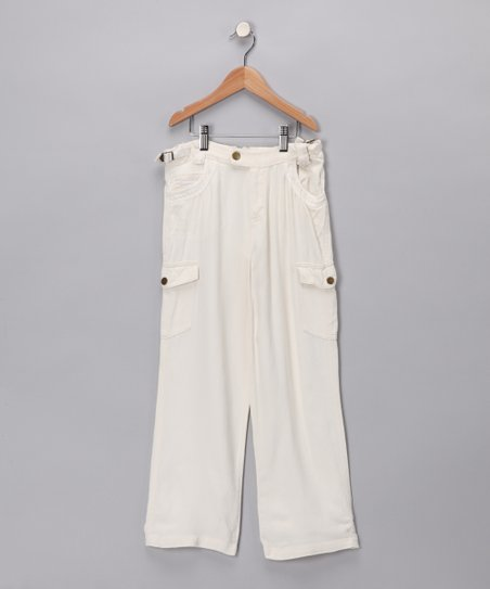 Birch Silk Cargo Pants