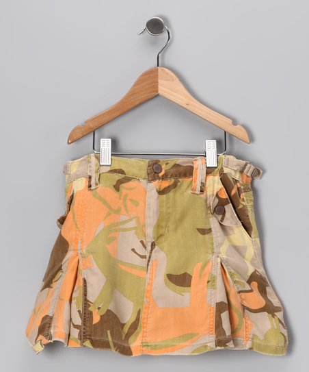 Forest Silk Skirt