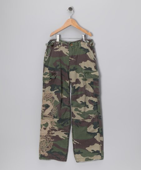 Green Camo Pants