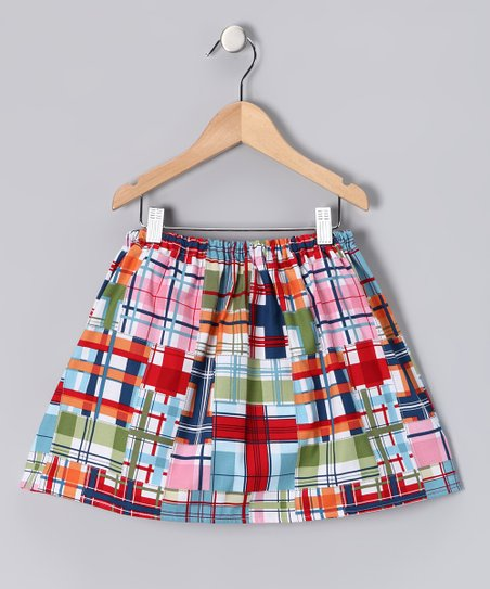 Seaside Plaid Skirt - Infant, Toddler & Girls