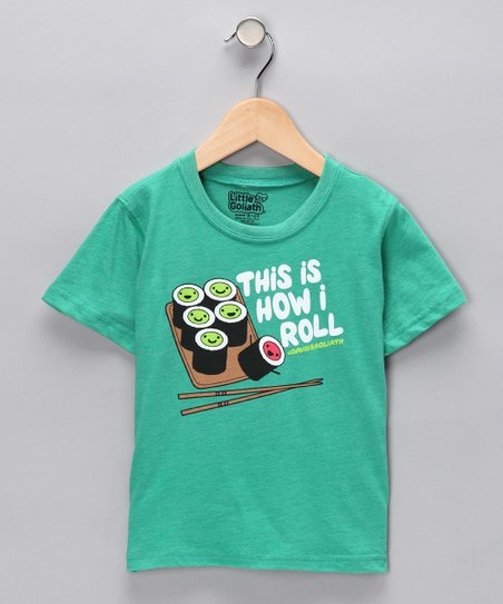Kelly Green 'How I Roll' Tee - Toddler & Boys