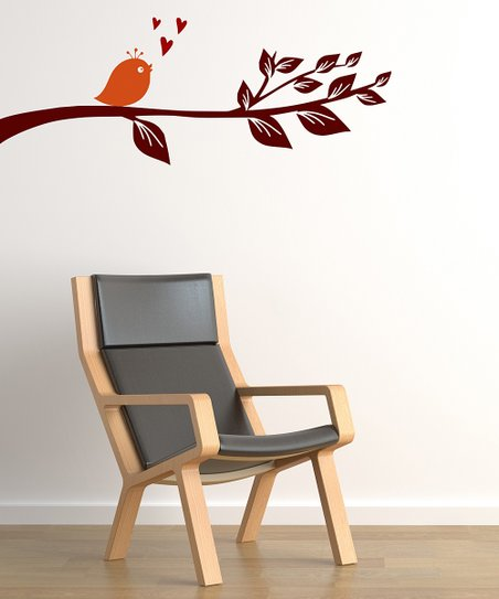 Lovebird Wall Decal Set