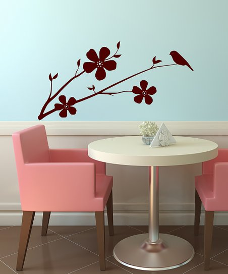 Brown Little Bird Wall Decal