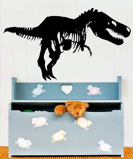 Black T-Rex Wall Decal