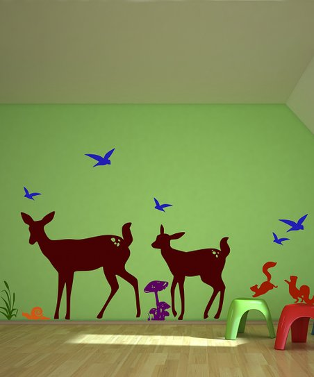 Deer Wall Decal Set