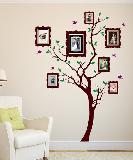 Frame Tree Wall Decal Set