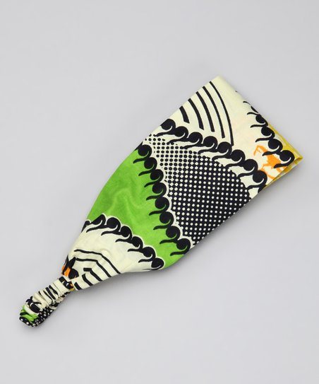 Green & Yellow Etcetera Headband