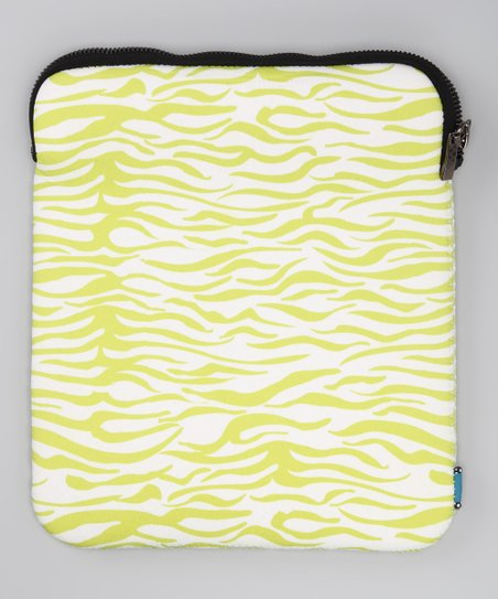 Green Zebra Cover for Tablet