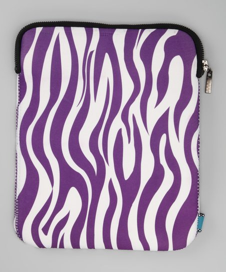 Purple Zebra Cover for Tablet