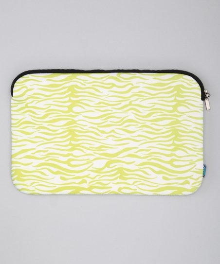 Green Zebra Sleeve for Laptops