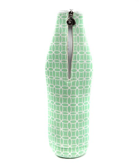 Green Sea Life Wine Bottle Bag