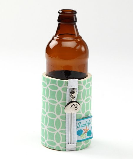 Green Sea Life Koozie