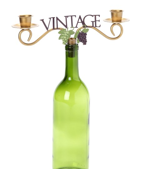 'Vintage' Wine Bottle Topper