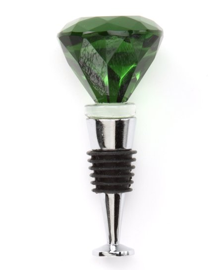 Green Diamond Bottle Stopper