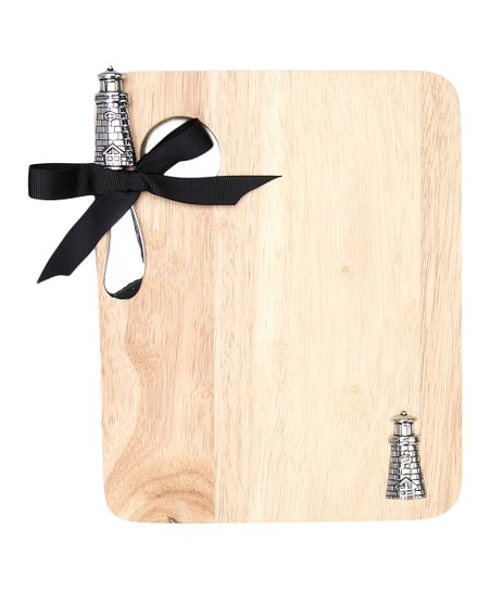 Lighthouse Cheese Board &amp; Knife