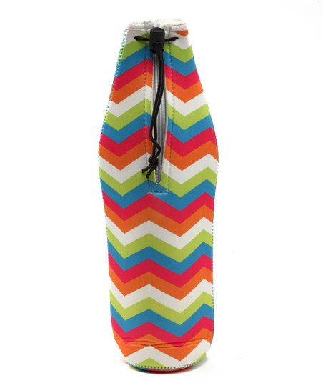 Zigzag Wine Bottle Bag