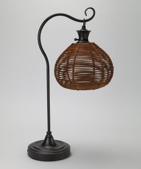 Rattan Ball Table Lamp