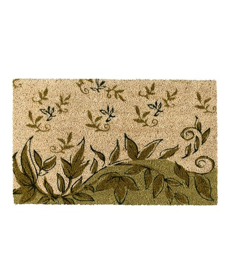 Two-Tone Vine Doormat