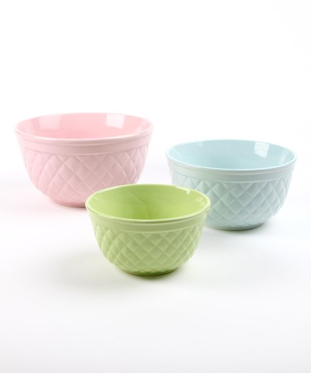 Sweet Lattice Bowl Set